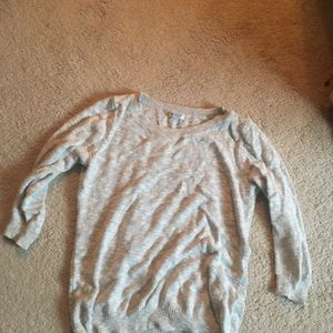 Grey old navy sweater